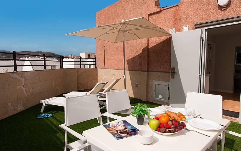 19 Terrace Gran Canaria Las Palmas Apartment - Terrace