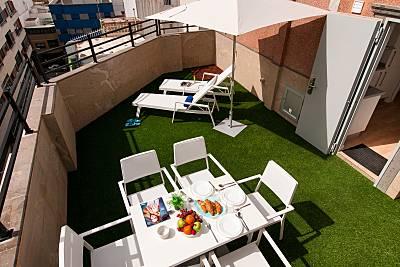 19 Apartamentos a 100 m playa de las canteras Gran Canaria