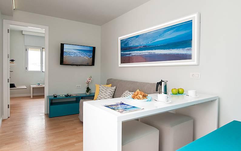 19 Living-room Gran Canaria Las Palmas Apartment - Living-room
