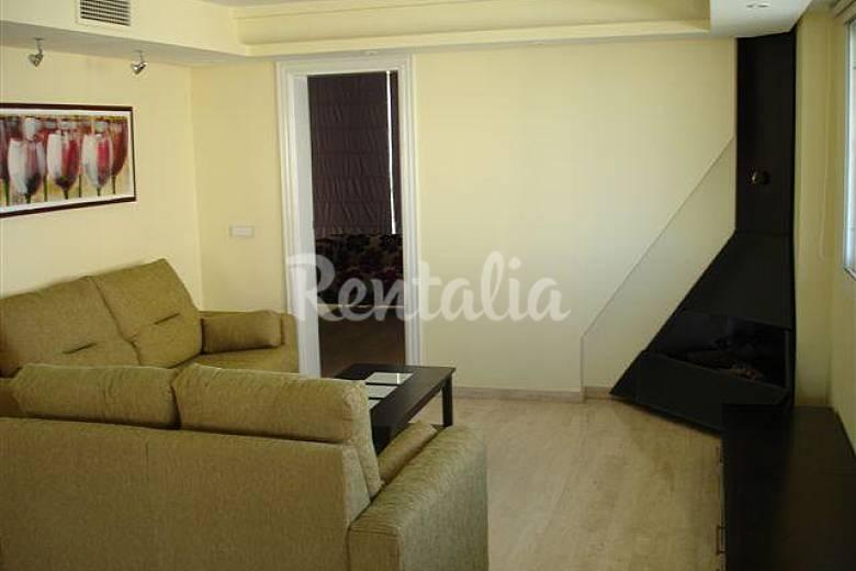 Wohnung Wohnzimmer Alicante Benidorm Ferienwohnung