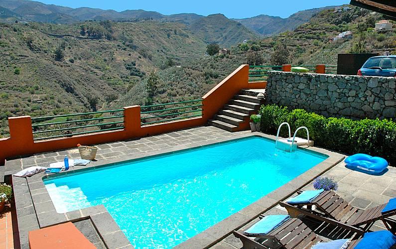 villa para 2 personas con piscina privada wifi la