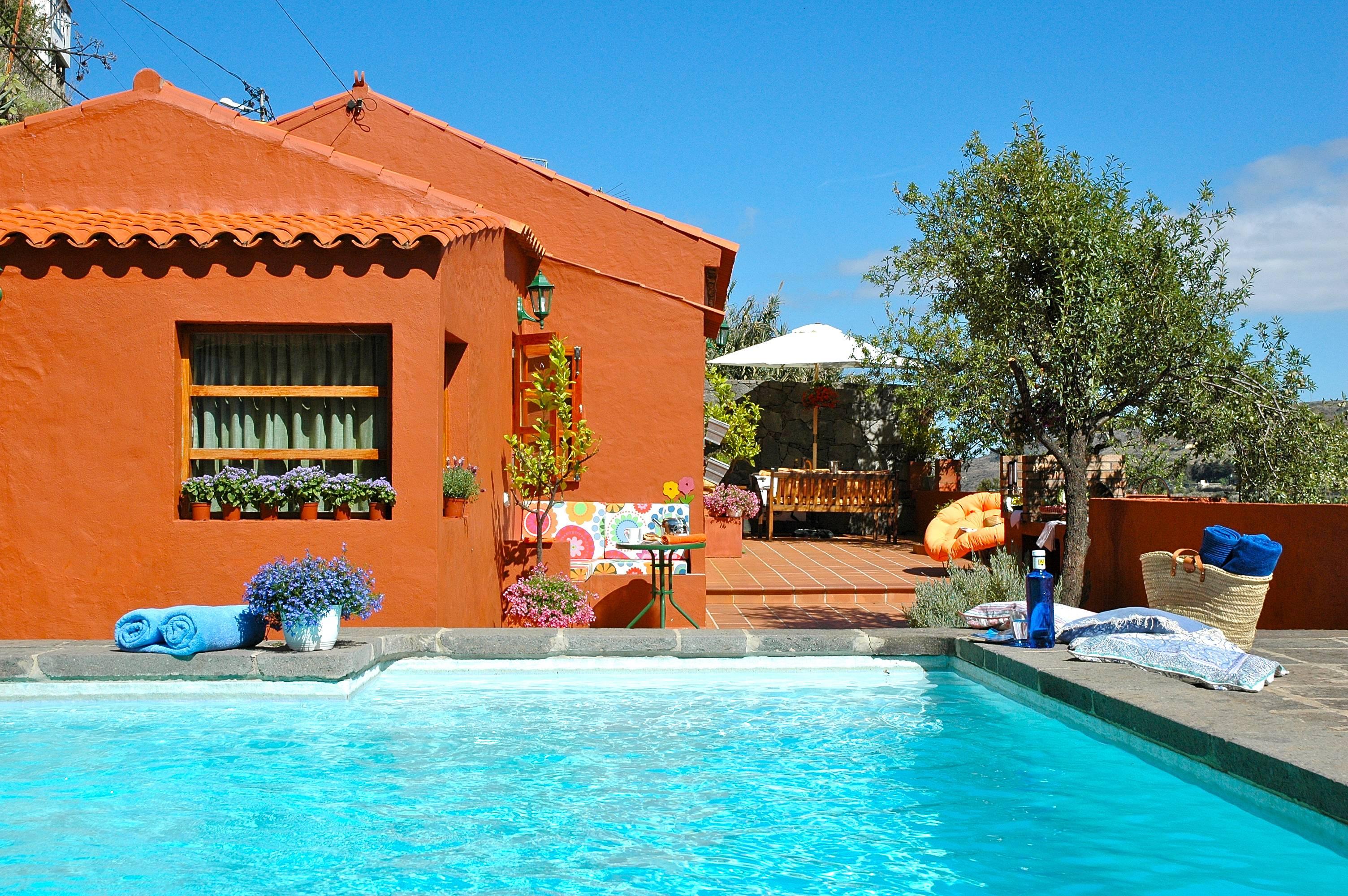 Villa para 2 personas con piscina privada wifi la - Villas en gran canaria con piscina ...