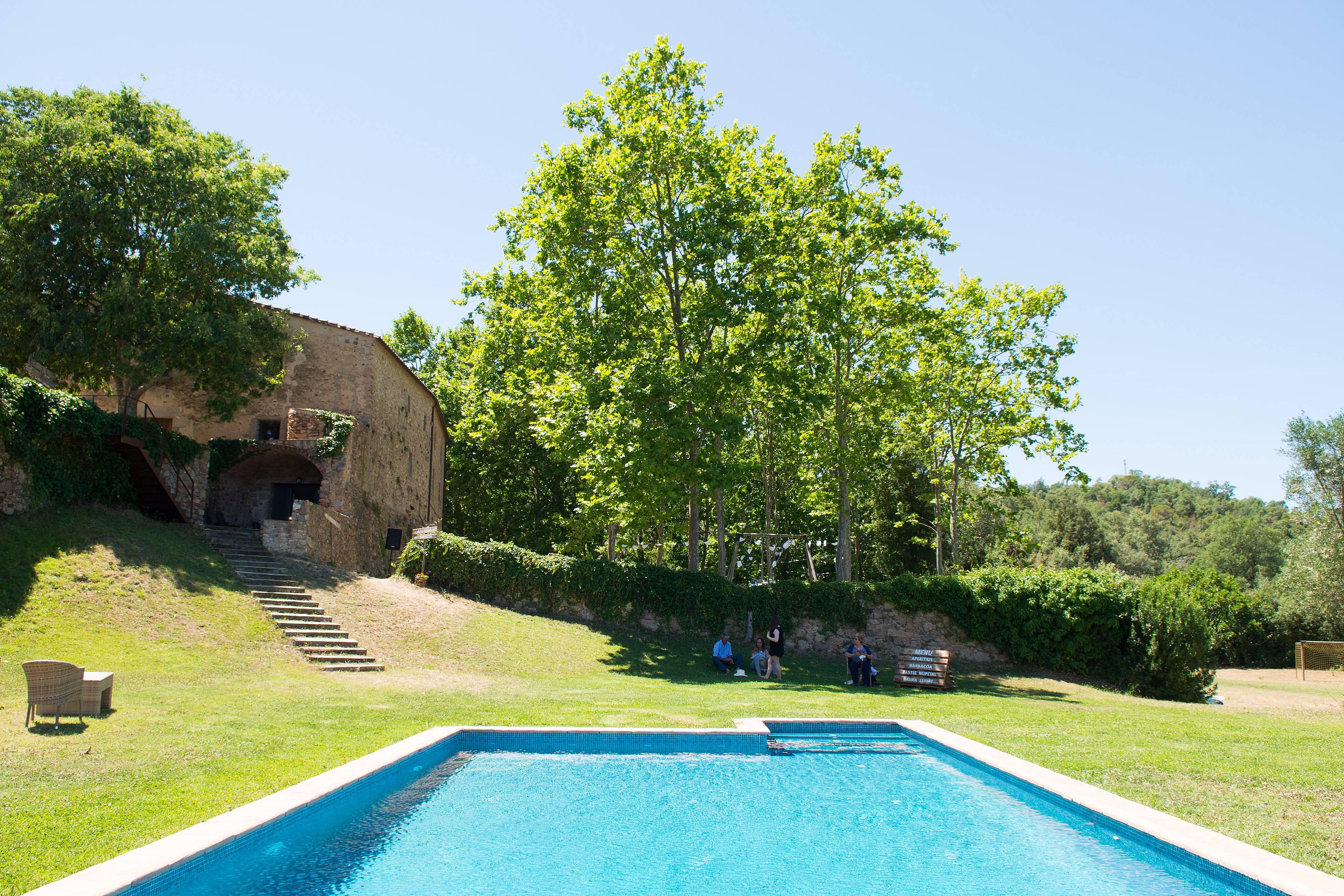 4 casas con piscina calonge girona costa brava - Piscina devesa girona ...