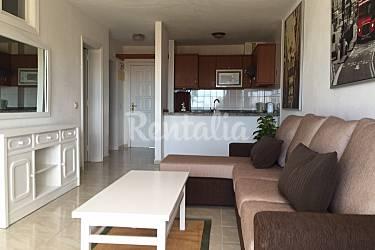 5 Living-room Tenerife Adeje Apartment