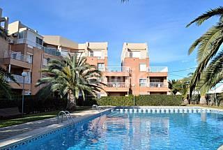 Apartamento en alquiler en 1a línea de playa Alicante