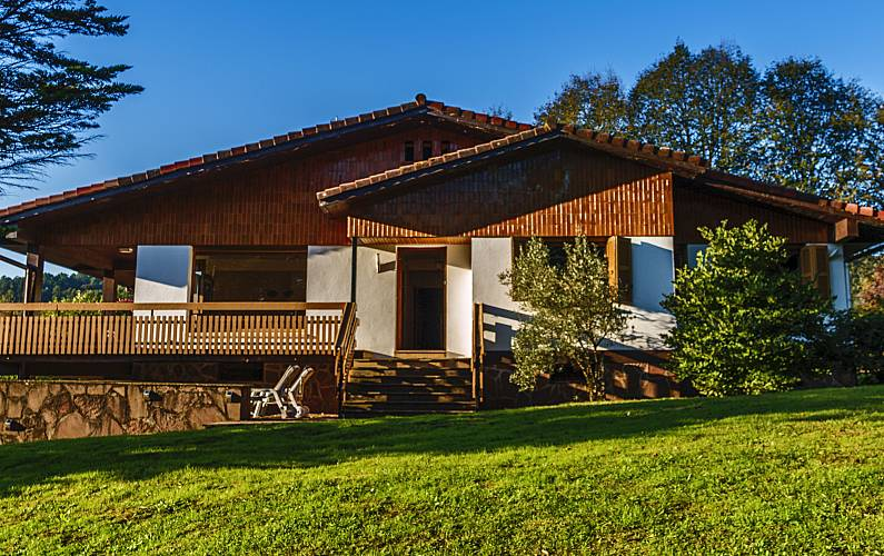 Alquiler Villa Oiartzun 10 personas Terraza Jardín Guipúzcoa