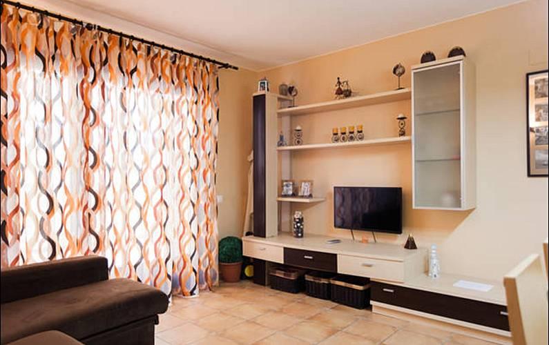 Apartamento com 2 quartos a 100 m da praia Girona - Sala