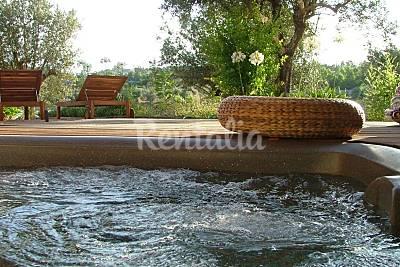 Vivenda com jacuzzi sobre barragem Portalegre