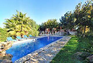Ultimos dias de agosto. lujosa villa 6 personas Menorca