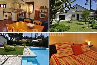 Near beaches, Lisbon 20 km, pool, garden, BBQ Setúbal