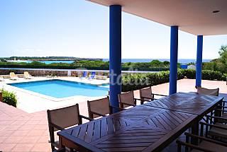 Villa in affitto in prima linea di spiaggia Minorca