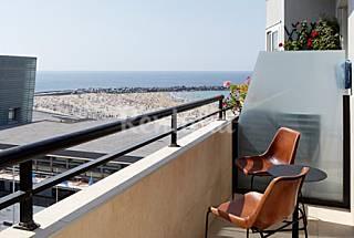 Ondarra Beach - Terraza con vistas al mar Guipúzcoa
