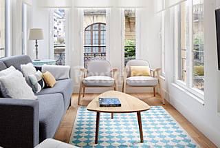 Wohnung für 6 Personen im Zentrum von Donostia/San Sebastián Gipuzkoa