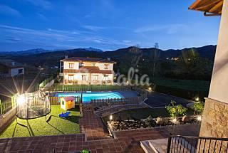 apartamentos rurales con piscina