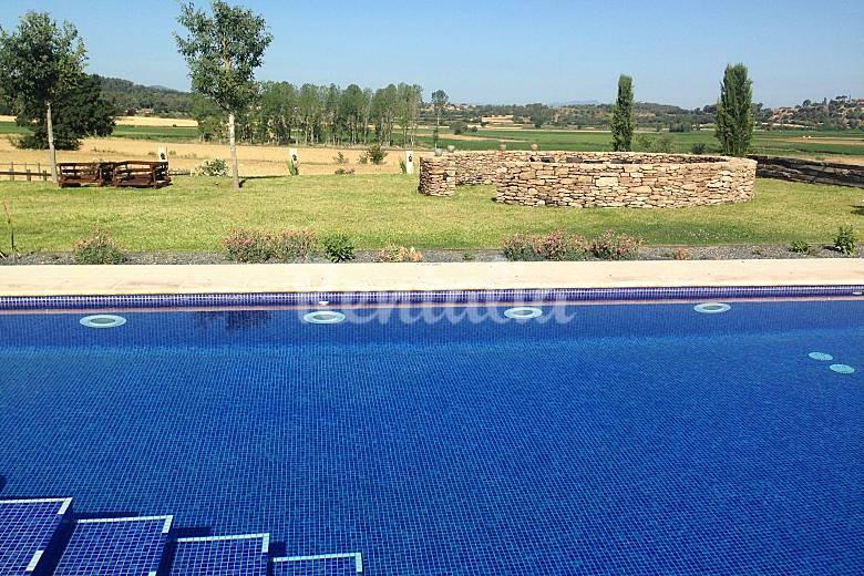 Villa in affitto con piscina Girona