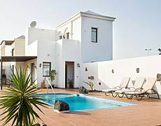 Villa met 3 slaapkamers op 900 meter van het strand Lanzarote