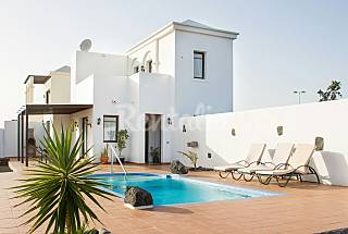 villa with private pool and 3 bedrooms Lanzarote