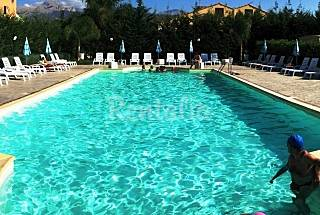 Villa for 6-9 people only 150 meters from the beach Palermo