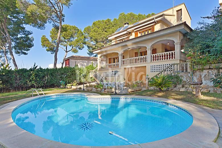 39 villa tossals 39 gran chalet con piscina para 12 s - Piscinas palma de mallorca ...
