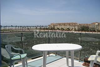 Una Terraza al mar en primera línea de playa Almería