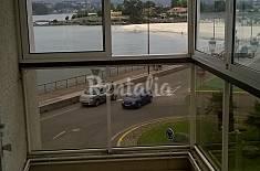 Apartamento de 2 habitaciones en 1a línea de playa Pontevedra