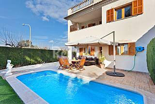 Bonito chalet con piscina privada para 8 personas. Mallorca