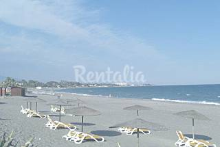 2 bedrooms 200 meters to the beach, WiFi, parking Málaga
