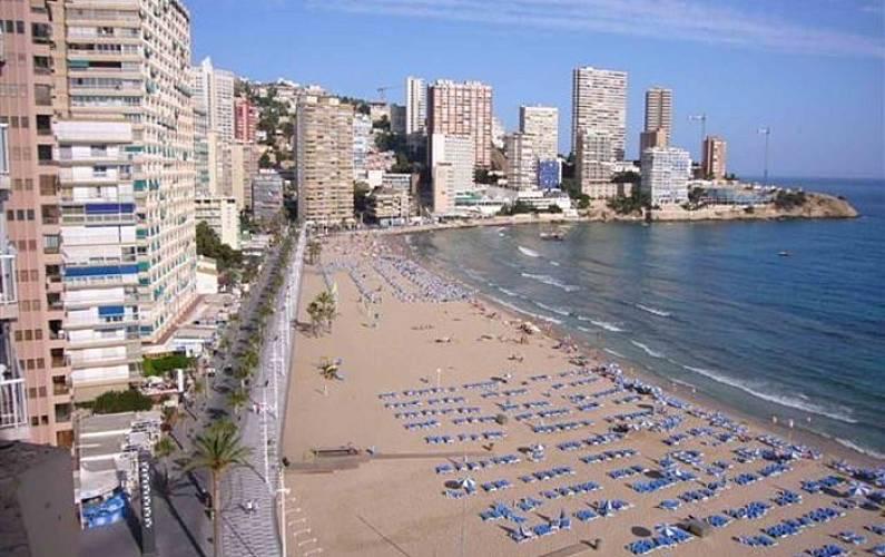 Apartamento para 6 pessoas em benidorm romeral l 39 alf s del pi alicante costa blanca - Apartamentos carolina benidorm ...