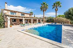 Villa zur Vermeitung in Felanitx Mallorca