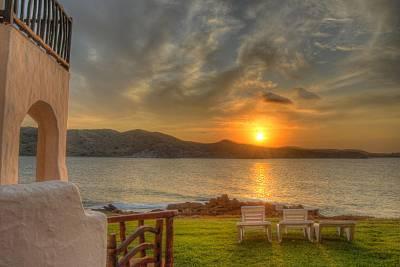 Casa en la Playa, junto al agua, y puesta de sol Menorca