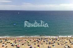 Apartamento en primera línea de playa Girona/Gerona