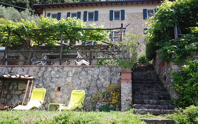 Apartment Outdoors Lucca Camaiore Cottage - Outdoors
