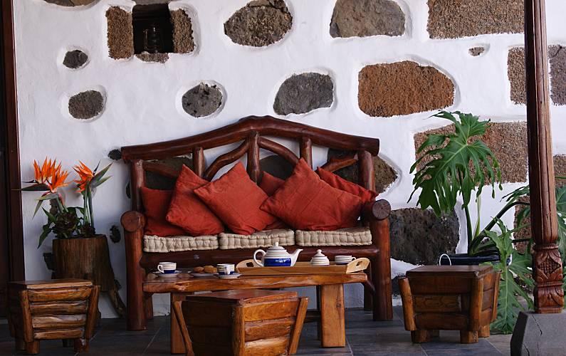 Casa Terraza Lanzarote Tinajo Casa en entorno rural - Terraza
