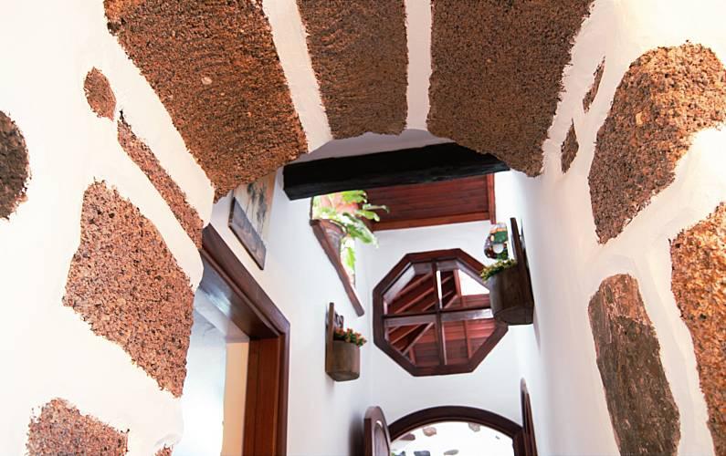 Casa Interior del aloj. Lanzarote Tinajo Casa en entorno rural - Interior del aloj.