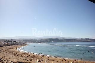Ático en alquiler en 1a línea de playa Gran Canaria