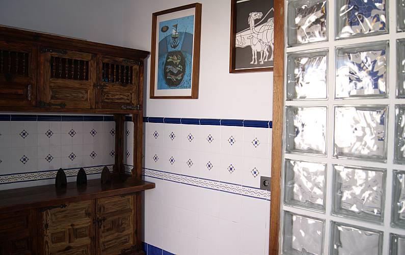 Casa Baño Lanzarote Tinajo Casa en entorno rural - Baño