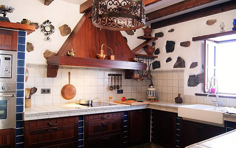 Casa Cocina Lanzarote Tinajo Casa en entorno rural - Cocina
