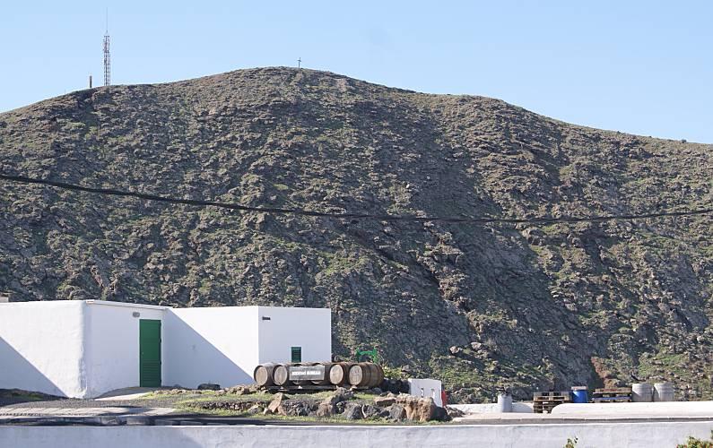 Casa Vistas desde la casa Lanzarote Tinajo Casa en entorno rural - Vistas desde la casa
