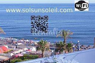 Self-catering apartment seaside with Wifi Málaga