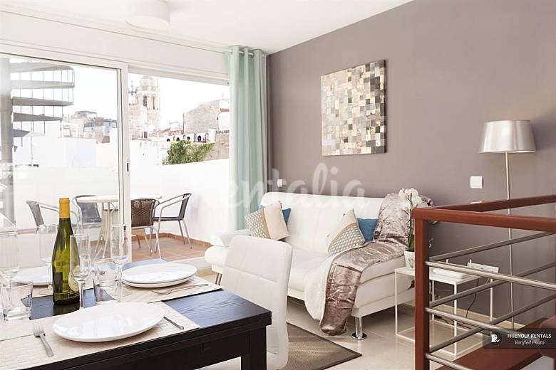 El apartamento blaumar tico en sitges sitges barcelona - Atico en sitges ...
