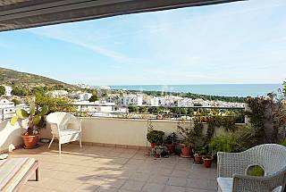 Apartamento, Terraza vistas Mar, Montaña y P...
