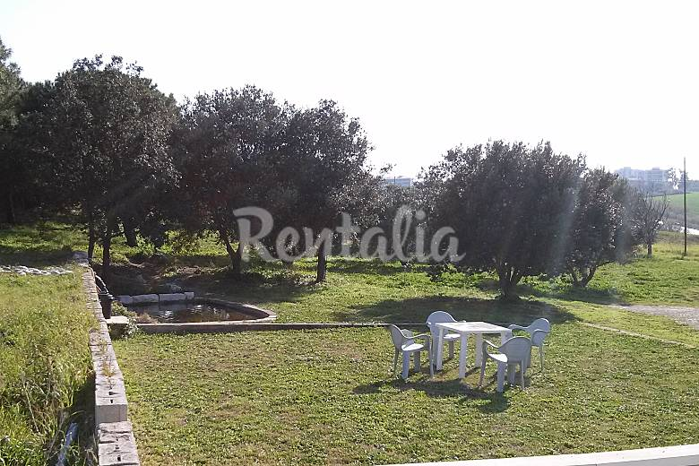 Villa en alquiler a 70 m de la playa litorale nord for Jardin 70 m2