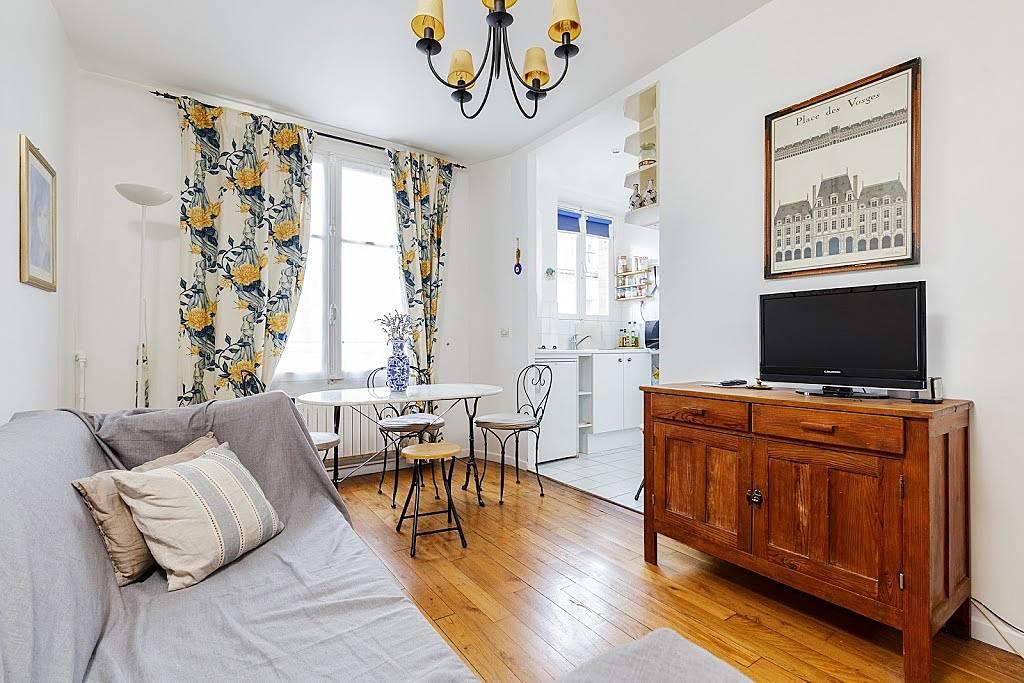 Appartement pour 4 personnes paris paris 4e paris paris for Appart hotel paris pour 5 personnes