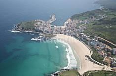Appartement de 2 chambres à 250 m de la plage La Corogne