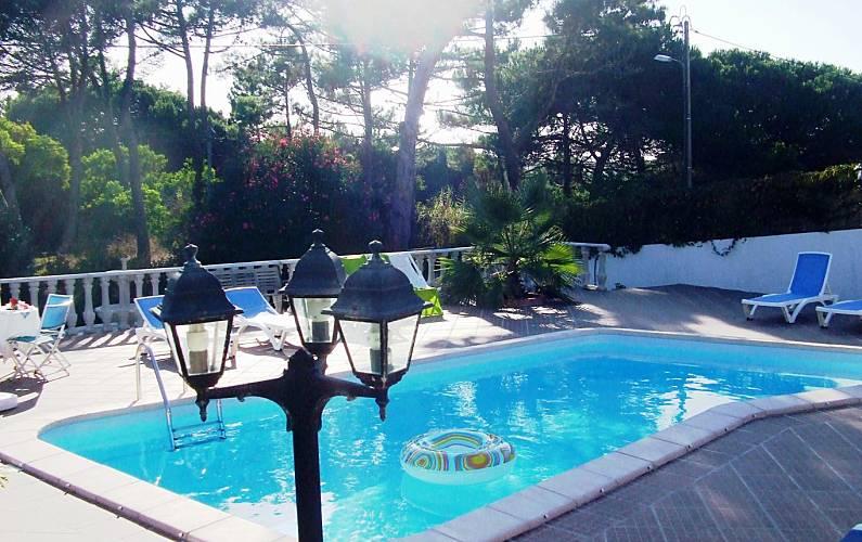 Casa de férias c/jardim piscina privada e aquecida Lisboa - Piscina