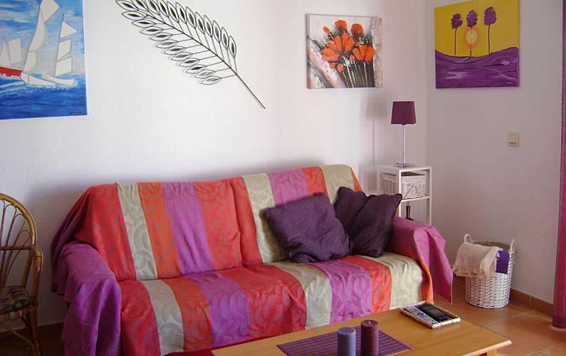 Appartamento con 1 stanza a 150 m dal mare Malaga - Salotto