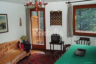 Apartment Living-room Aosta Courmayeur Apartment