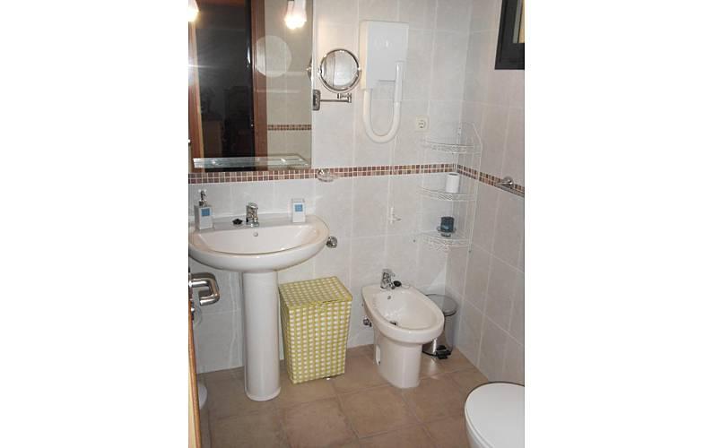 Vivenda Casa-de-banho Forteventura La Oliva vivenda - Casa-de-banho