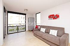 Apartment for rent on the beach front line Herault