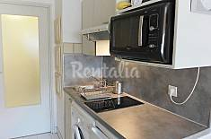 Apartment for rent on the beach front line Var